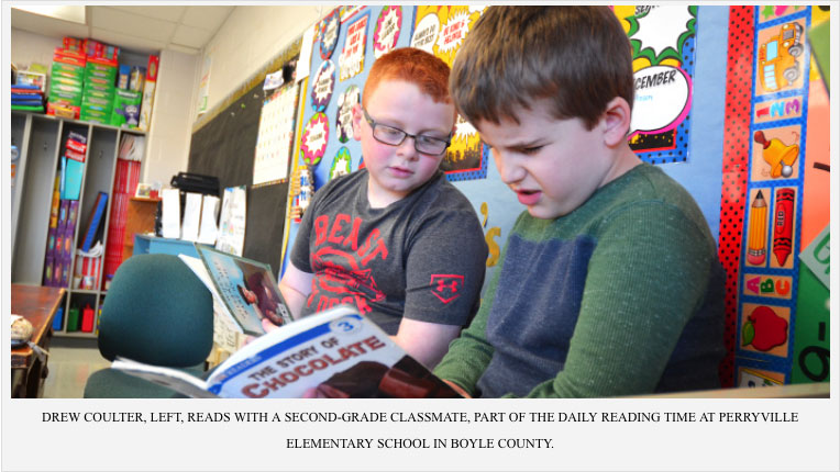 Perryville Elementary Students Reading